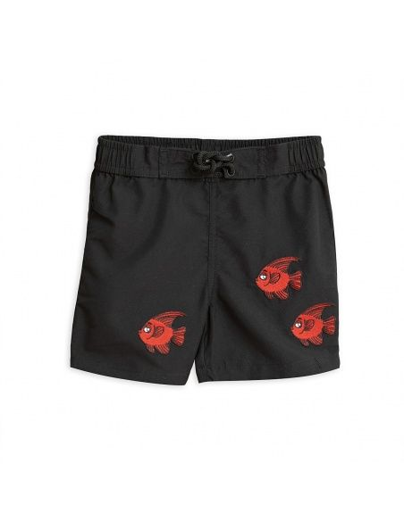 Fish Swimshorts black - Mini Rodini