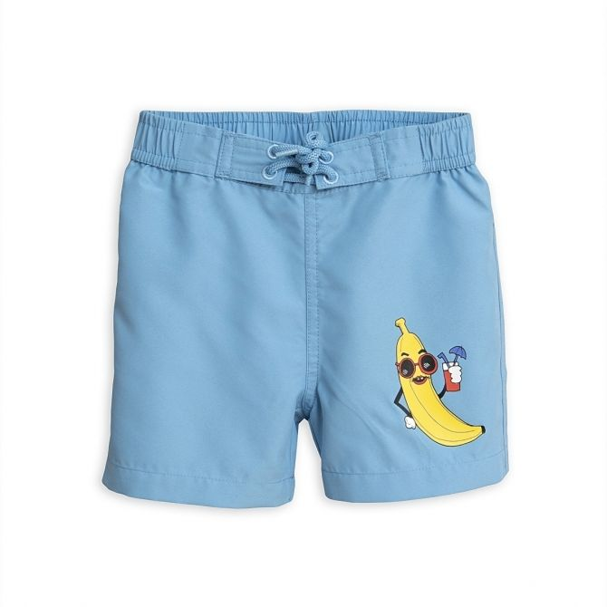 Banana Swimshorts blue - Mini Rodini