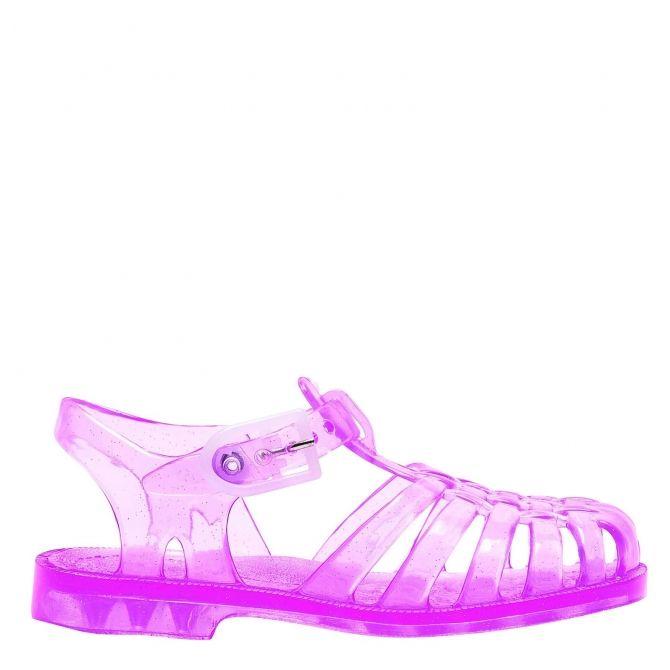 Sandały Sun Rose Paillete różowe - Meduse