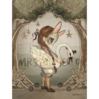 Poster card Miss Edda 18x24