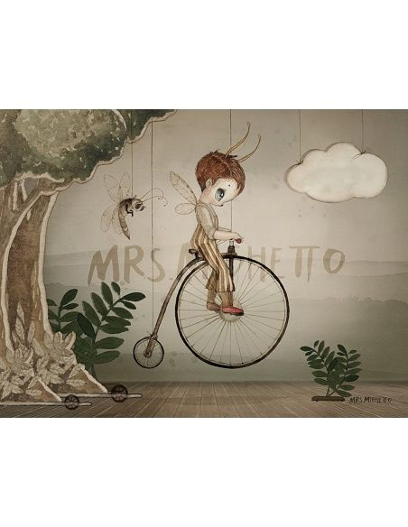 Mrs. Mighetto Poster Mr John 24x18