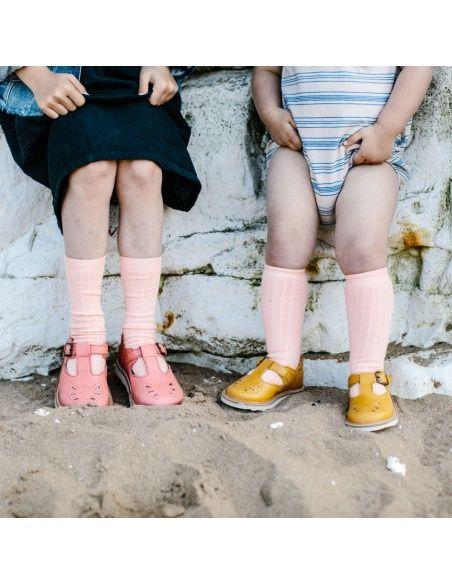 Półbuty Rosie Leather żółte - Young Soles