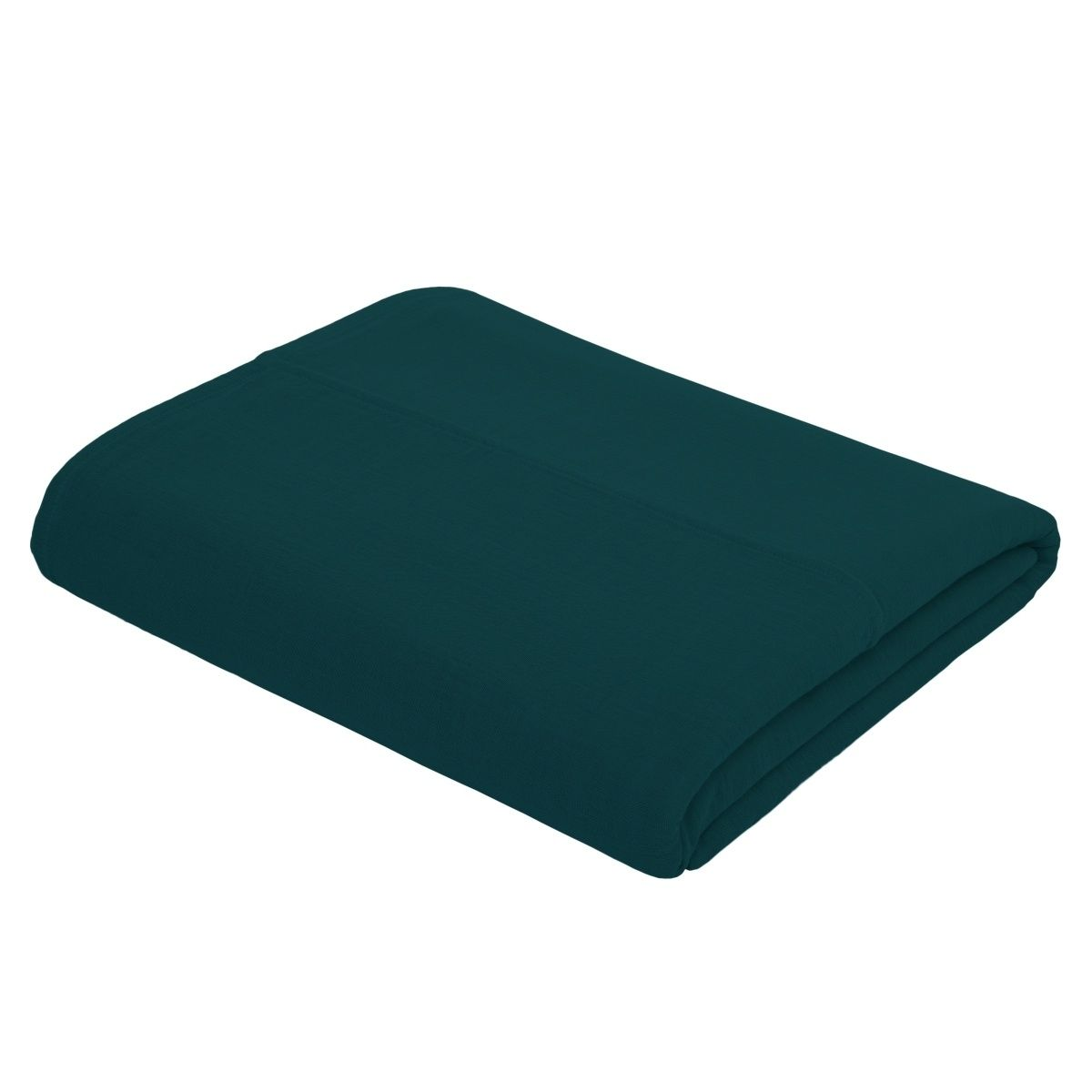 Numero 74 Top Flat Bed Sheet Plain teal blue