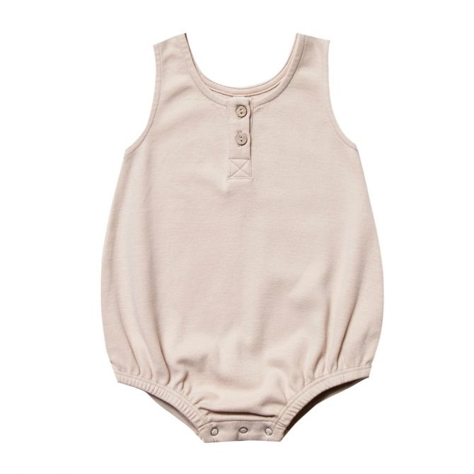 Sleeveless Bubble Body pink - Quincy Mae