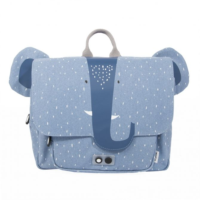 Trixie Satchel Mrs.Elephant blue