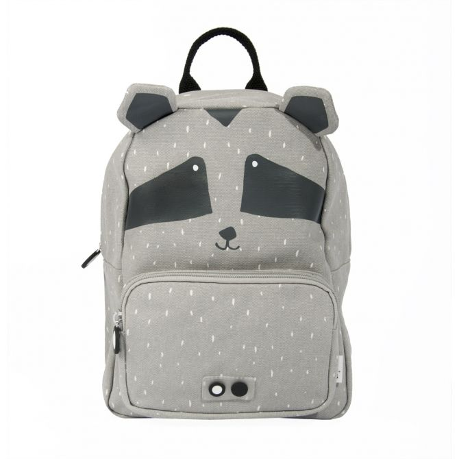 Backpack Mr. Raccoon grey