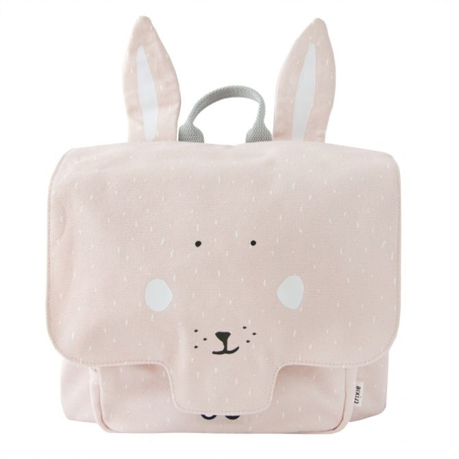 Trixie Satchel Mrs. Rabbit pink