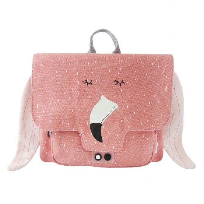 Trixie Satchel Mrs. Flamingo pink