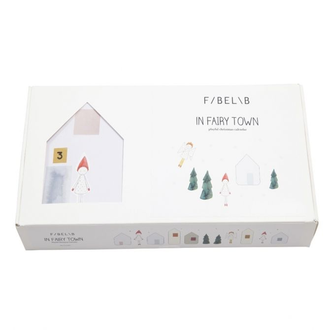 Fabelab Christmas Calendar In Fairy Town multicolor
