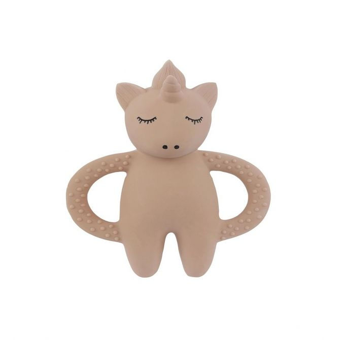Teeth Soother Unicorn beige - Konges Slojd