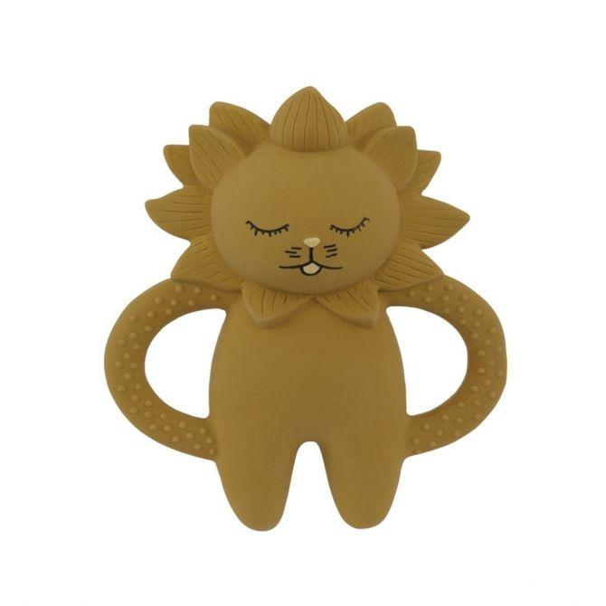 Teeth Soother Lion mustard - Konges Slojd