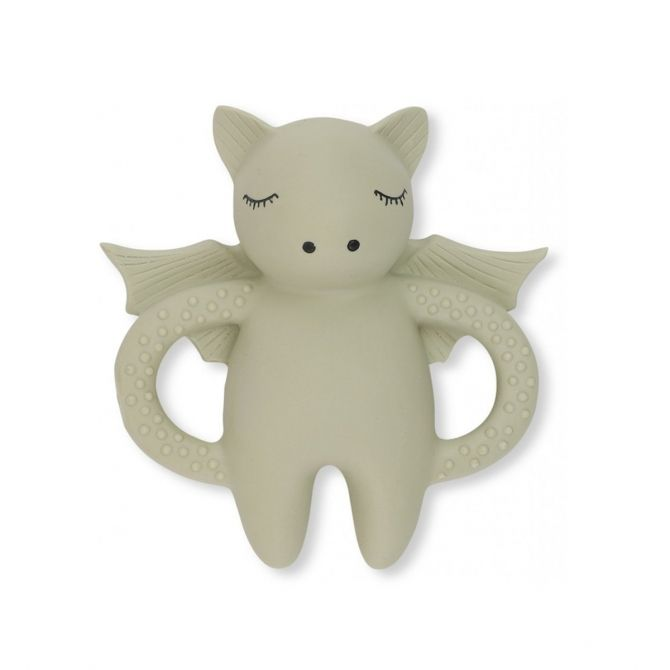 Konges Slojd Teeth Soother Bat beige