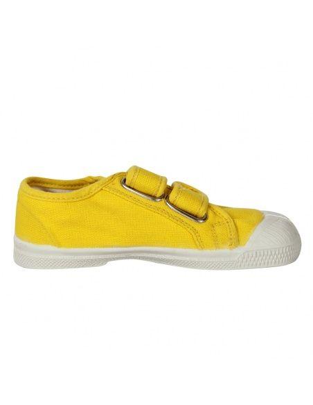 Trampki Scratch żółte - Bensimon