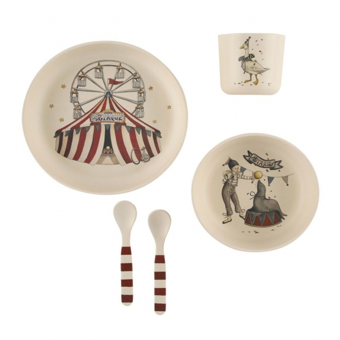 Dinner Set Circus - Konges Slojd