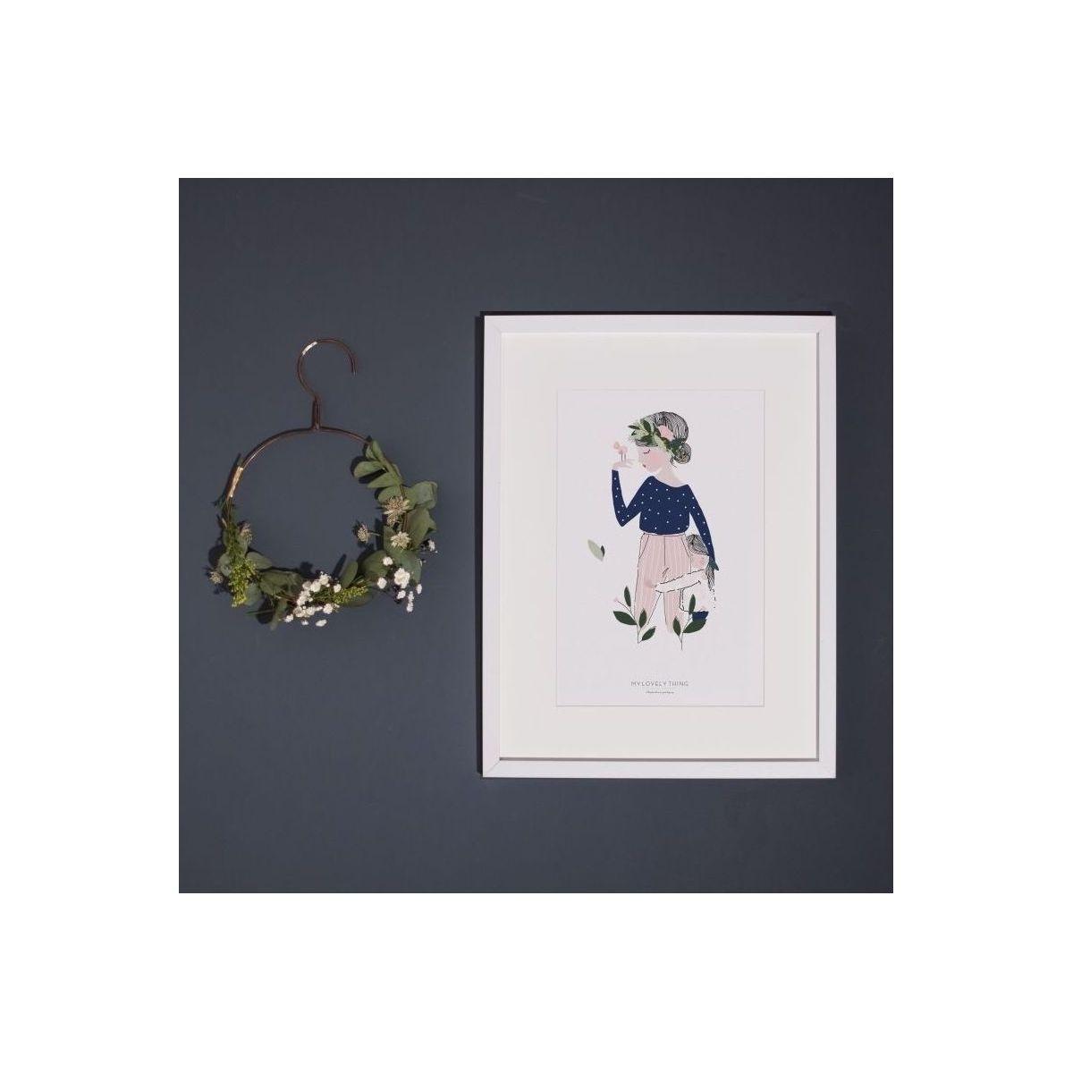 Poster Adélaïde blue - My Lovely Thing