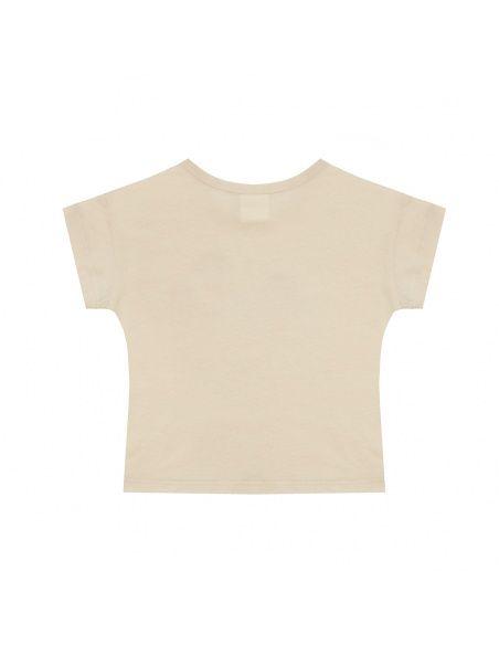 Chmurrra Burrra Grasshopper t-shirt beige