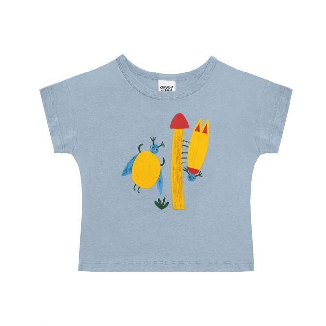 T-shirt Beetles niebieski - Chmurrra Burrra