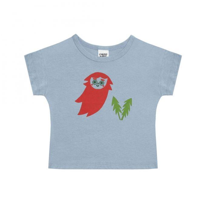 Chmurrra Burrra T-shirt Gnome niebieski