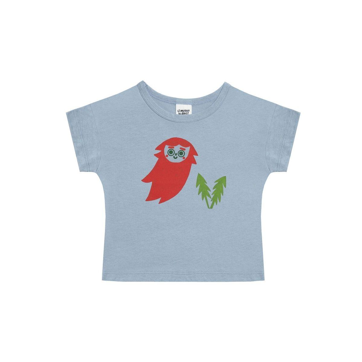 Gnome t-shirt blue - Chmurrra Burrra