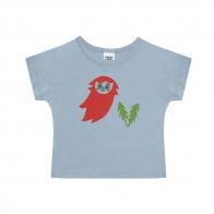 T-shirt Gnome niebieski