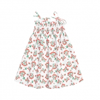 Lingonberry Dres white