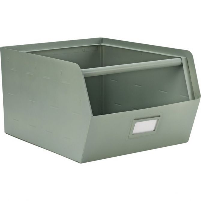 Kids Depot Metal Storage Box green