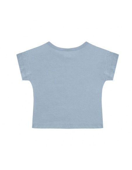 Swallows t-shirt blue - Chmurrra Burrra