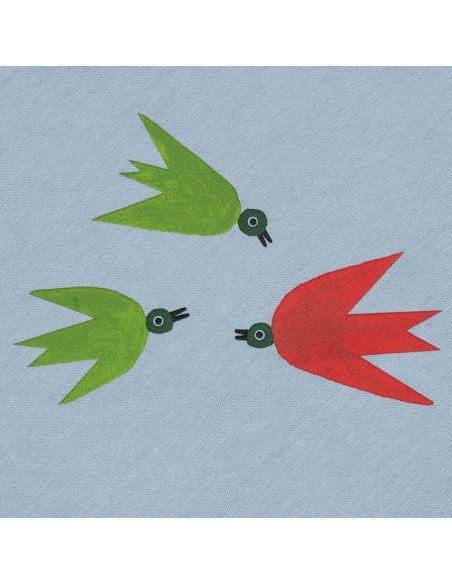 T-shirt Swallows niebieski - Chmurrra Burrra