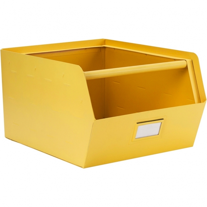 Kids Depot Metal Storage Box yellow