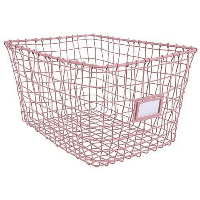 Kids Depot Wire basket pink