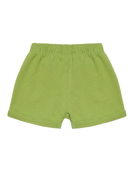 Chmurrra Burrra Little Worms Shorts green