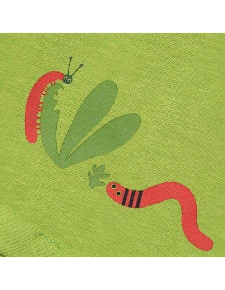 Chmurrra Burrra Spodenki Little Worms zielone