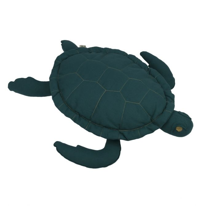 Samy Turtle Cushion Toy teal blue - Numero 74