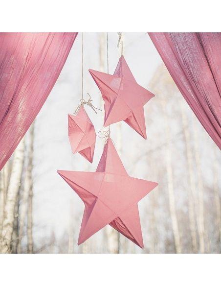 Numero 74 Lantern Star dusty pink