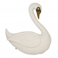 Swan Vicky Cushion Toy natural