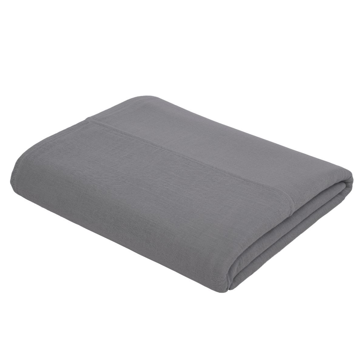 Numero 74 Top Flat Sheet Plain stone grey