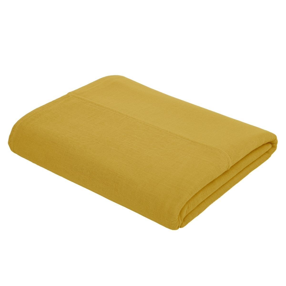 Numero 74 Top Flat Sheet Plain sunflower yellow