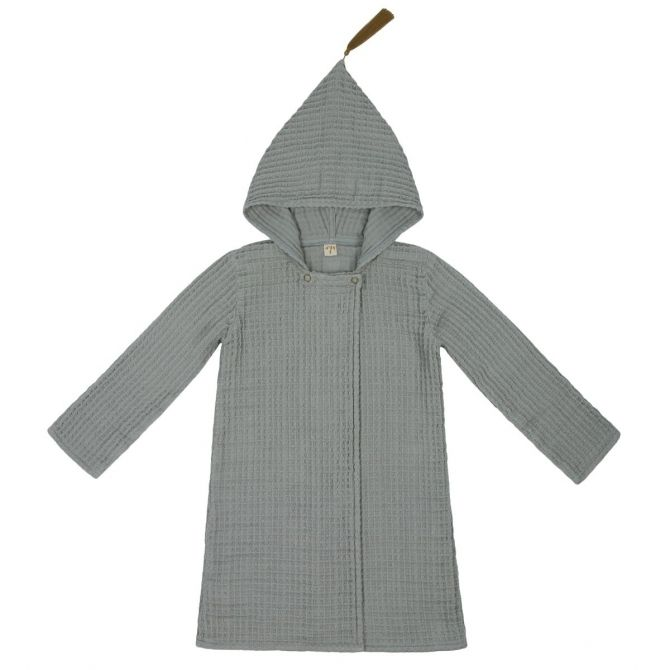 Numero 74 Bathrobe Kid silver grey