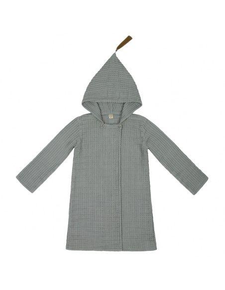 Numero 74 Bathrobe Kid silver grey