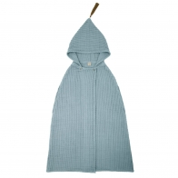 Poncho Towel ice blue