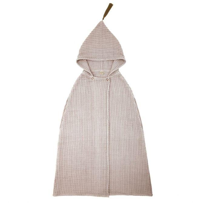 Szlafrok Poncho Towel pudrowy