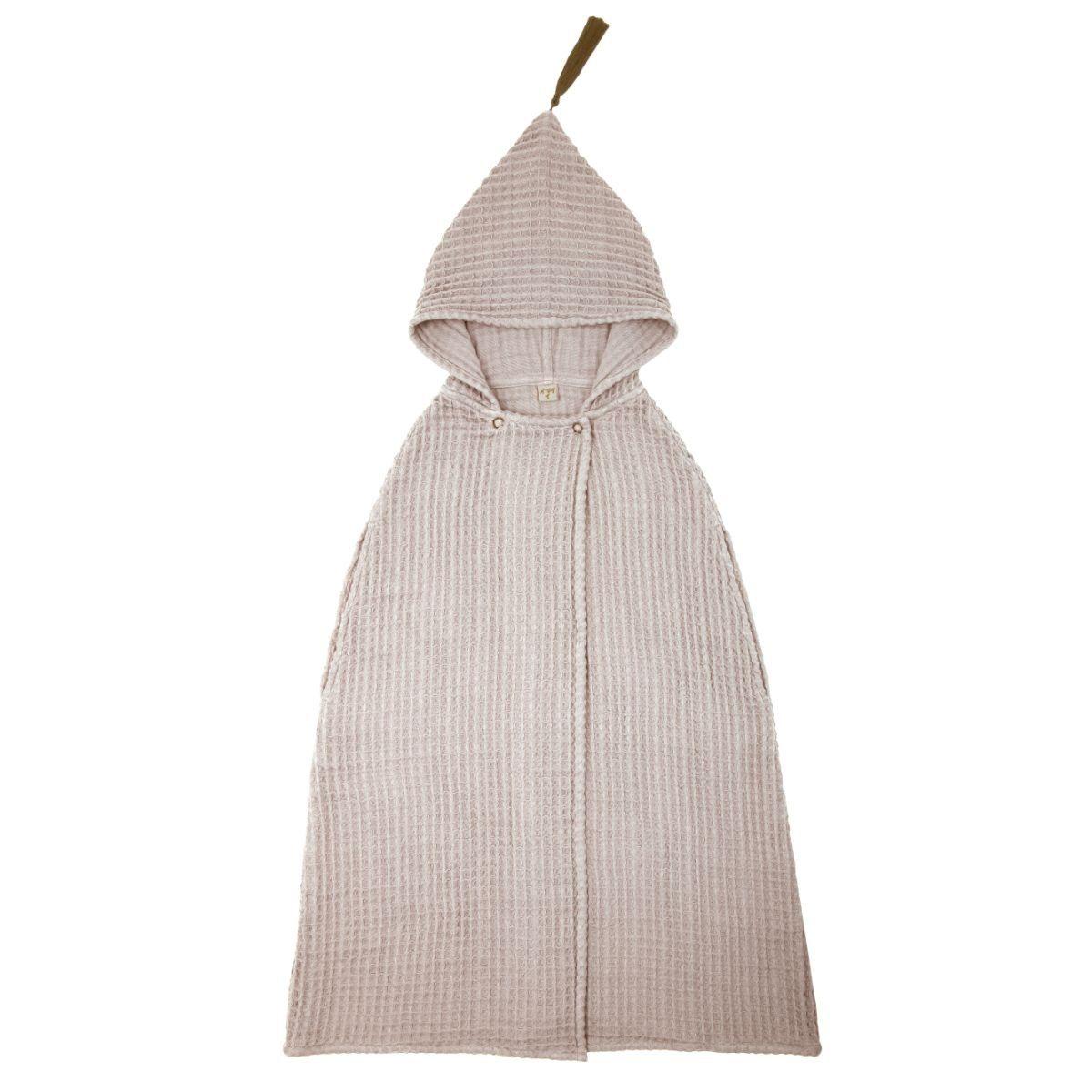 Numero 74 Szlafrok Poncho Towel pudrowy
