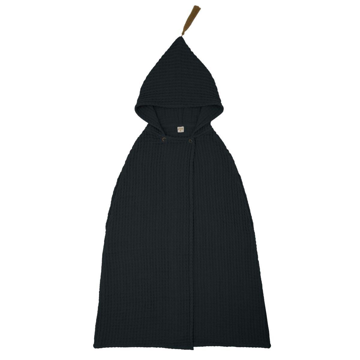 Numero 74 Poncho Towel dark grey
