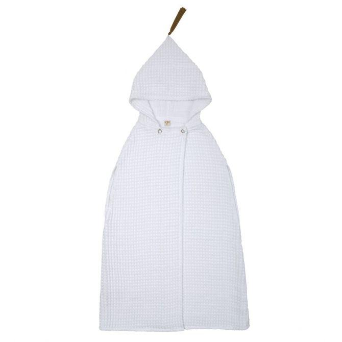 Szlafrok Poncho Towel biały