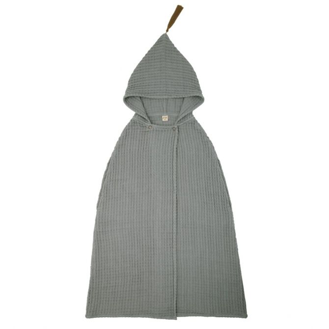 Numero 74 Poncho Towel silver grey