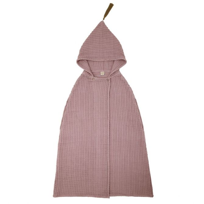 Poncho Towel dusty pink