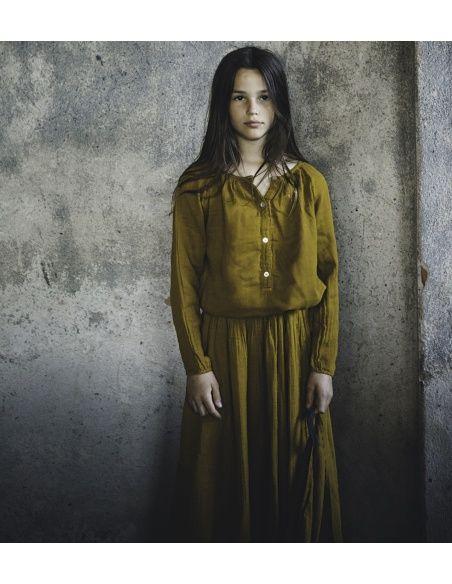 Numero 74 Bluzka Naia musztardowa