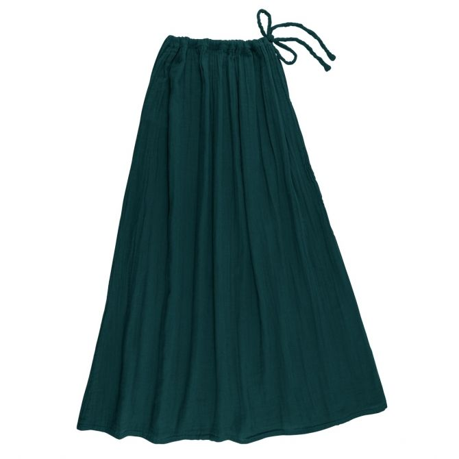 Numero 74 Skirt for mum Ava long teal blue