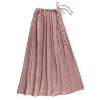 Skirt for mum Ava long dusty pink