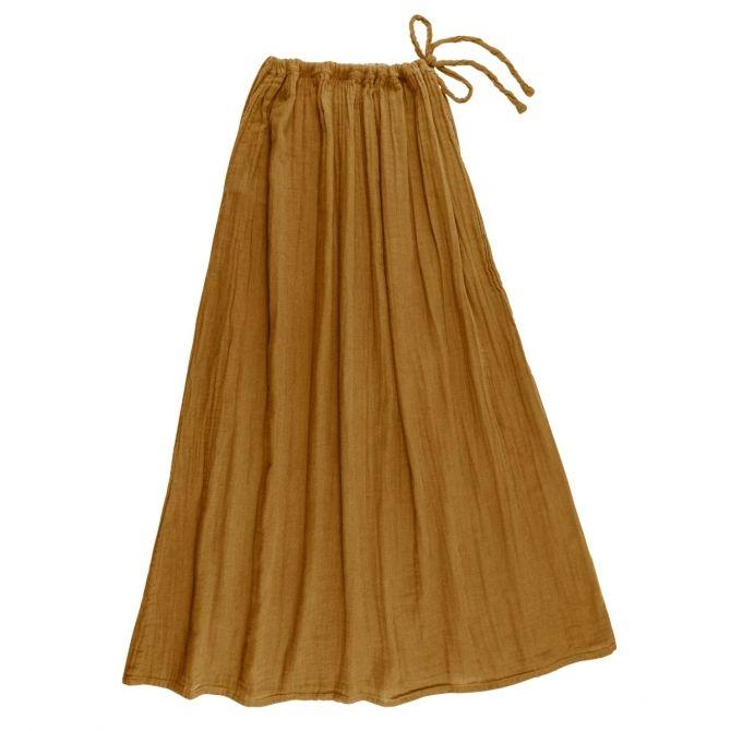 Numero 74 Spódnica dla mamy Ava długa musztardowa
